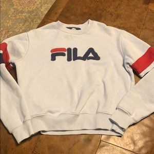 FILA sweatshirt xs light blue